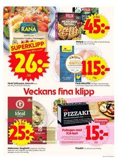 Erbjudanden i kategorin Pasta i ICA Supermarket