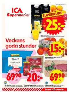 Matbutiker erbjudanden i ICA Supermarket katalogen i Stockholm ( Publicerades idag )