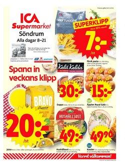 ICA Supermarket-katalog ( Går ut idag )