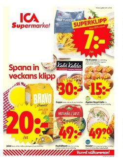 ICA Supermarket-katalog ( GÃ¥r ut idag)