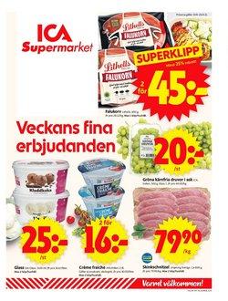 Matbutiker erbjudanden i ICA Supermarket katalogen i Örebro ( Publicerades igår )