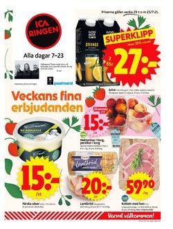 Erbjudanden från ICA Supermarket i ICA Supermarket ( Går ut idag)