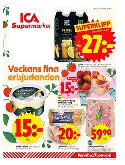 Erbjudanden från Matbutiker i ICA Supermarket ( Går ut idag)