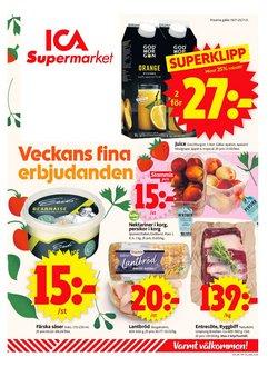 ICA Supermarket-katalog ( Går ut idag)