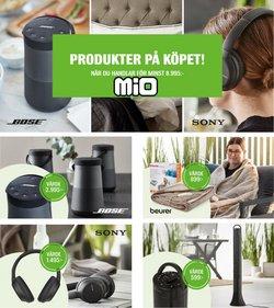 Erbjudanden från Möbler och Inredning i Mio ( Går ut imorgon)