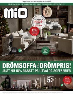 Erbjudanden från Möbler och Inredning i Mio ( 18 dagar kvar)