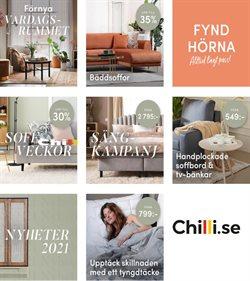 Erbjudanden från Möbler och Inredning i Chilli ( Publicerades igår )