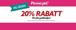 Erbjudanden från Albrekts Guld i Eskilstuna
