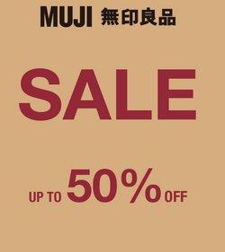 Erbjudanden från Muji i Muji ( 6 dagar kvar)