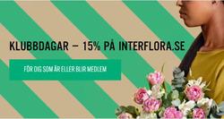 Erbjudanden från Interflora i Stockholm