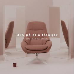Erbjudanden från Bolia i Stockholm