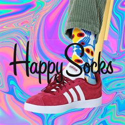 Kläder, Skor och Accessoarer erbjudanden i Happy Socks katalogen i Sollentuna ( Mer än en månad )