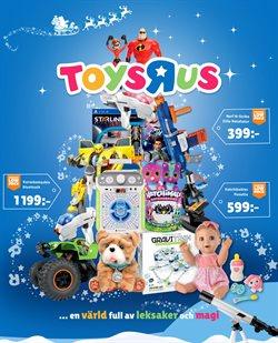 Leksaker och barnartiklar erbjudanden i ToysRus katalogen i Burlöv