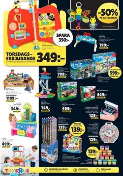 Ballonger erbjudanden i ToysRus katalogen i Stockholm