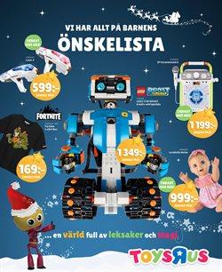 Leksaker och barnartiklar erbjudanden i ToysRus katalogen i Uppsala