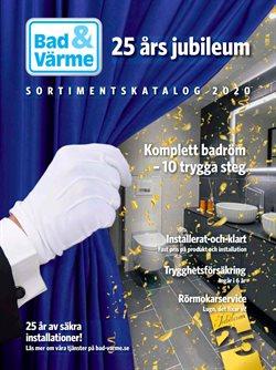 Bad & Värme-katalog i Stockholm ( Mer än en månad )