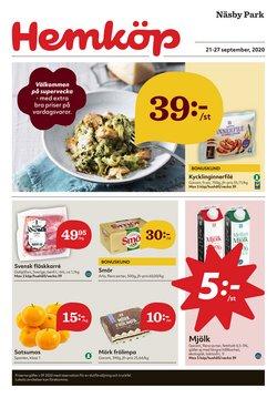 Matbutiker erbjudanden i Hemköp katalogen i Vallentuna ( Går ut imorgon )