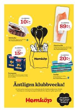 Matbutiker erbjudanden i Hemköp katalogen i Åkersberga ( 3 dagar kvar )