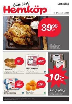 Matbutiker erbjudanden i Hemköp katalogen i Lidköping ( 2 dagar kvar )