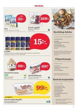 Erbjudanden från Matbutiker i Hemköp ( Publicerades igår )