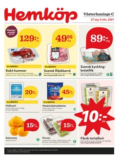 Hemköp-katalog ( Publicerades igår)