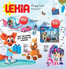 Leksaker och Barn erbjudanden i Lekia katalogen i Göteborg ( Mer än en månad )