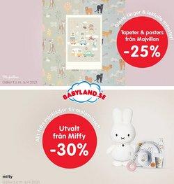 Leksaker och Barn erbjudanden i Babyland katalogen i Stockholm ( Går ut idag )