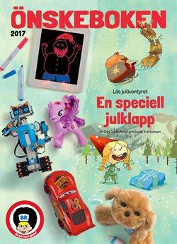 Leksaker och barnartiklar erbjudanden i BR leksaker katalogen i Stockholm
