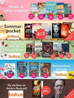 Erbjudanden från Böcker och Kontorsmaterial i Bokus ( Publicerades idag)
