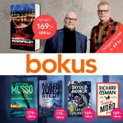 Erbjudanden från Bokus i Bokus ( Går ut idag)