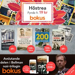 Erbjudanden från Böcker och Kontorsmaterial i Bokus ( 3 dagar kvar)
