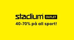 Erbjudanden från Stadium i Stockholm