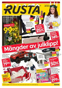 Rusta-katalog ( Publicerades idag )