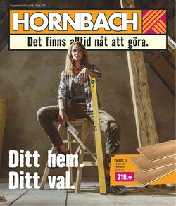 Bygg och Trädgård erbjudanden i Hornbach katalogen i Stockholm ( 18 dagar kvar )