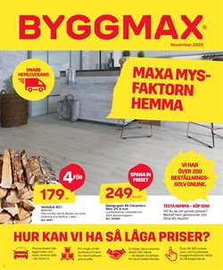 Byggmax-katalog ( Går ut idag )