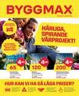 Bygg och Trädgård erbjudanden i Byggmax katalogen i Stockholm ( 3 dagar kvar )