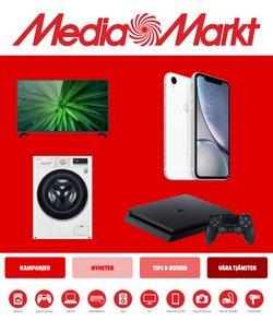 Elektronik och vitvaror erbjudanden i Media Markt katalogen i Huddinge ( 2 dagar kvar )