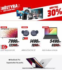 Erbjudanden från Elektronik och Vitvaror i Media Markt ( 2 dagar kvar)