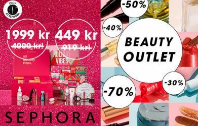 Erbjudanden från Skönhet och Parfym i Sephora ( Publicerades idag)