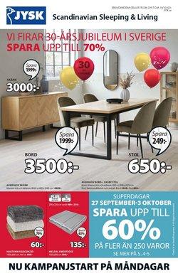 Erbjudanden från Möbler och Inredning i JYSK ( Publicerades igår)