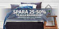 Erbjudanden från JYSK i Köping