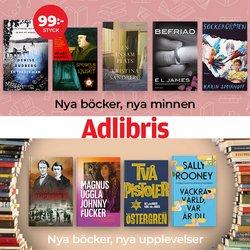 Erbjudanden från Böcker och Kontorsmaterial i Adlibris ( Publicerades idag)