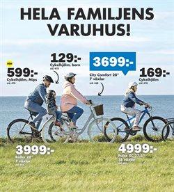 Erbjudanden i kategorin Cykelhjälm i Biltema