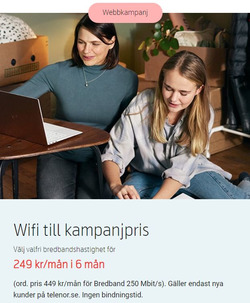 Erbjudanden från Telenor i Stockholm