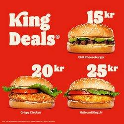 Burger King-katalog ( Går ut idag )