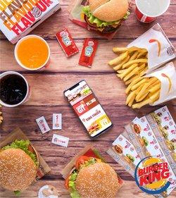 Erbjudanden från Restauranger och Kaféer i Burger King ( Mer än en månad)