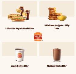 Burger King-katalog ( Går ut idag)