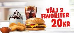 Erbjudanden från Burger King i Malmö