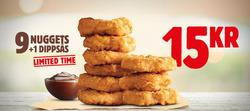 Erbjudanden från Burger King i Stockholm