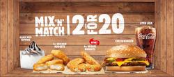 Restauranger och Caféer erbjudanden i Burger King katalogen i Uppsala